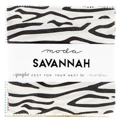 Savannah Charm Pack by Gingiber - Moda