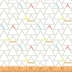 Paper Triangles Good Vibes Only - Windham fabrics