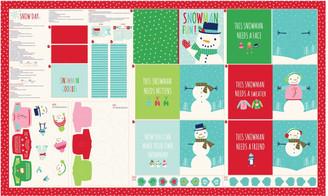 Snow Day Panel - Moda Fabrics