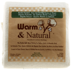 Warm & Natural Batting - Full Size