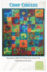 Crop Circles Quilt Kit - Frond Design Studios