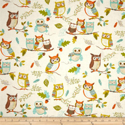 Forest Fellows Laminate - Robert Kaufman Fabrics