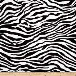 Zebra Stripe Laminate - Michael Miller fabrics