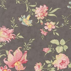 Romantic Blooms Laminate - Moda fabrics