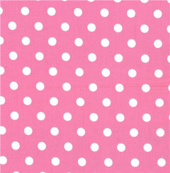 Pink Dot Laminate - Riley Blake fabrics