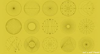 Redux Citron  - Andover Fabrics