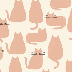 Chat Rose  - Andover Fabrics