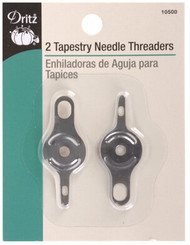 2 Tapestry Needle Threaders #6 - Dritz