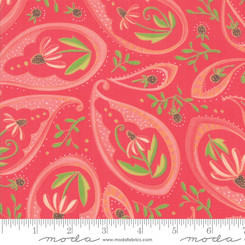 Painted Meadow Passion - Moda fabrics