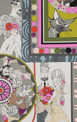 Ghastlie Love - Alexander Henry Fabrics