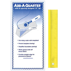 Add a Quarter Ruler - CM Designs