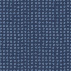 Indigo Dot  - Andover Fabrics