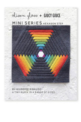 Mini Series Hexagon Step Pattern - Alison Glass + Giucy Giuce
