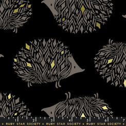 Hedgehog Darlings - Moda fabrics