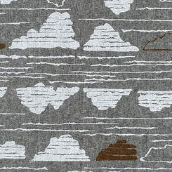 Driftless Black Clouds - Robert Kaufman fabrics