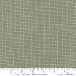 Boro Foundations Taupe Crosses - Moda fabrics