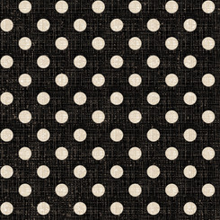 Black Textured Dots - David Textiles