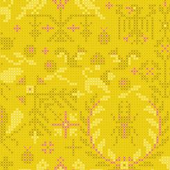 Sun Print 2020 Pencil Menagerie - Andover Fabrics