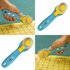 Olaf 45mm Rotary Cutter - Splash Turquoise #1110720