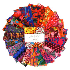"Kaffe Fassett Aug 20 Hot 5"" Charms FB6CPGP.A2020Hot FreeSpirit"