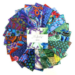 "Kaffe Fassett Aug 20 Cold 5"" Charms FB6CPGP.A2020COLD FreeSpirit"
