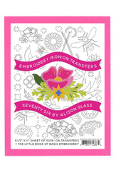 Alison Glass Floral Seventy Six Embroidery Pattern Andover