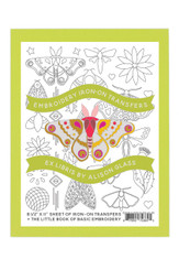 Alison Glass Ex Libris Butterfly Embroidery Pattern Andover