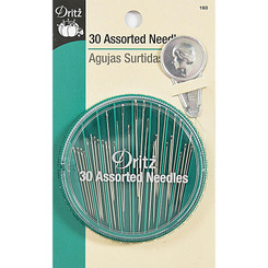 Assorted Needles Compact with Threader Dritz #160
