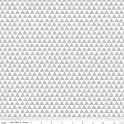 Purrfect Day Dark Gray Triangles #C9904 Riley Blake