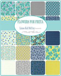 Flowers for Freya Charm Pack #23330PP Moda