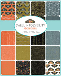 Dwell in Possibility Charm Pack - Gingiber - Moda #48310PP