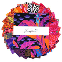 "Kaffe Fassett Feb 2021 Hot 10"" Squares Free Spirit"