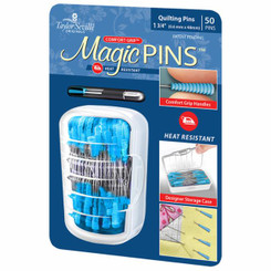 "Taylor Seville Magic Quilting Pins 1 3/4"" Fine 0.5 mm - Moda"