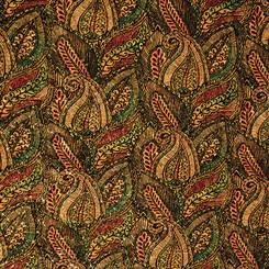 Cork Fabric Leaf Print #BPC 1008 Belagio - Moda