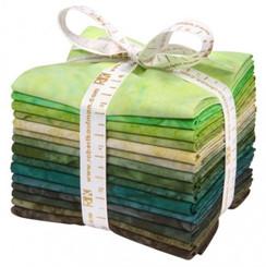 Prisma Dyes Rainforest Fat Quarter Bundle #FQ-832-15pc AB  Robert Kaufman