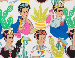 Frida con Las Plumas - Natural Alexander Henry #8857