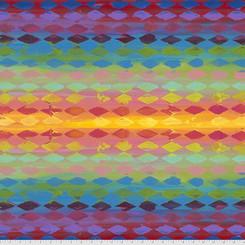 Harlequin - Multi by Sue Penn #PWSP020.multi Free Spirit