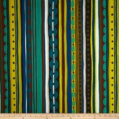 Africa Nyanza Stripe - Alexander Henry Fabrics