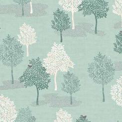 Woodland Trees - Andover Fabrics