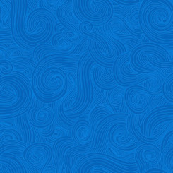 Just Color Aegean Blue - Studio E fabrics
