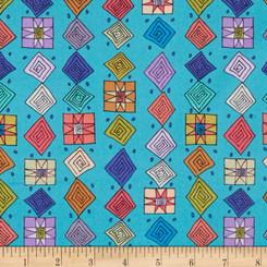 Folk Art Revolution - Free Spirit fabrics