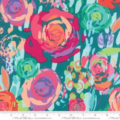 Painted Garden Floral - Moda fabrics