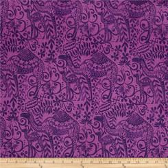 Jasmine Boysenberry - Robert Kaufman fabrics