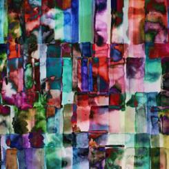 All Purpose Flower Jewel - Hoffman Fabric