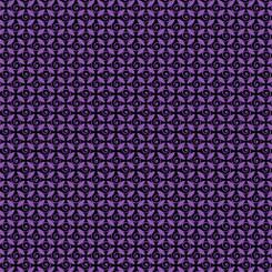 Pansy Noir - Kanvas/Benartex fabrics