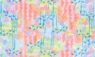 Marmalade Dreams Digital Multi - Robert Kaufman fabrics