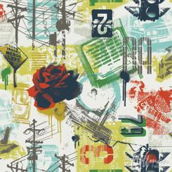 Grafic Prism  - Hoffman Fabric
