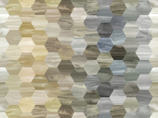 Color Moods Large Hexagon - Marcus Fabrics