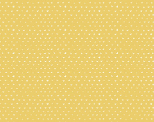 Mini Hearts Gold - Dear Stella fabrics