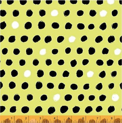8 Days a Week Lime Dot - Windham fabrics